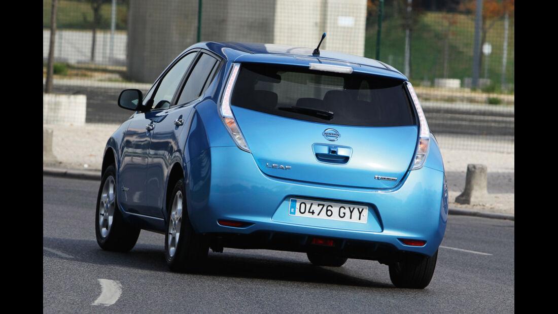 Nissan Leaf, Heckansicht