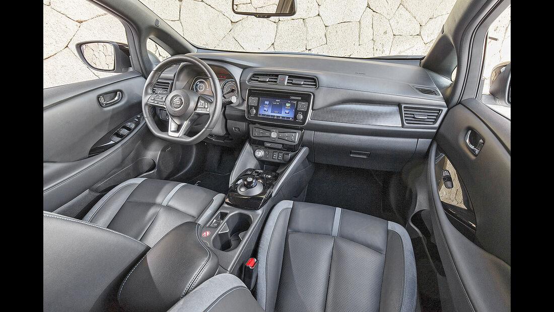 Nissan Leaf, Interieur
