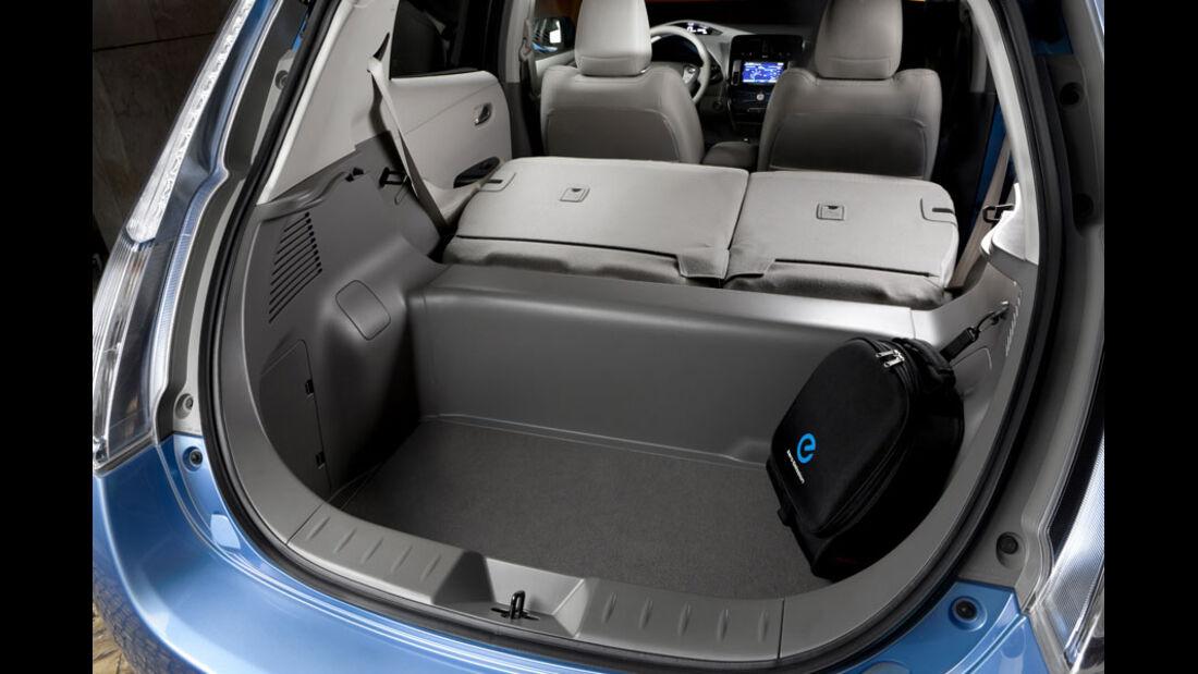 Nissan Leaf, Kofferraum