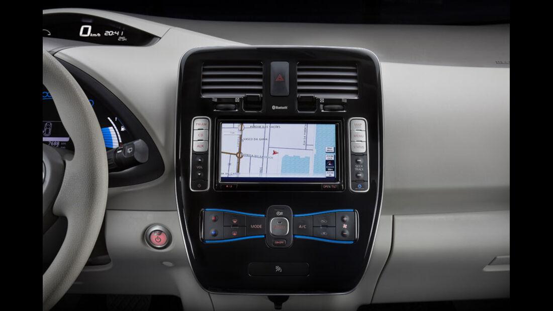 Nissan Leaf, Navigationssystem