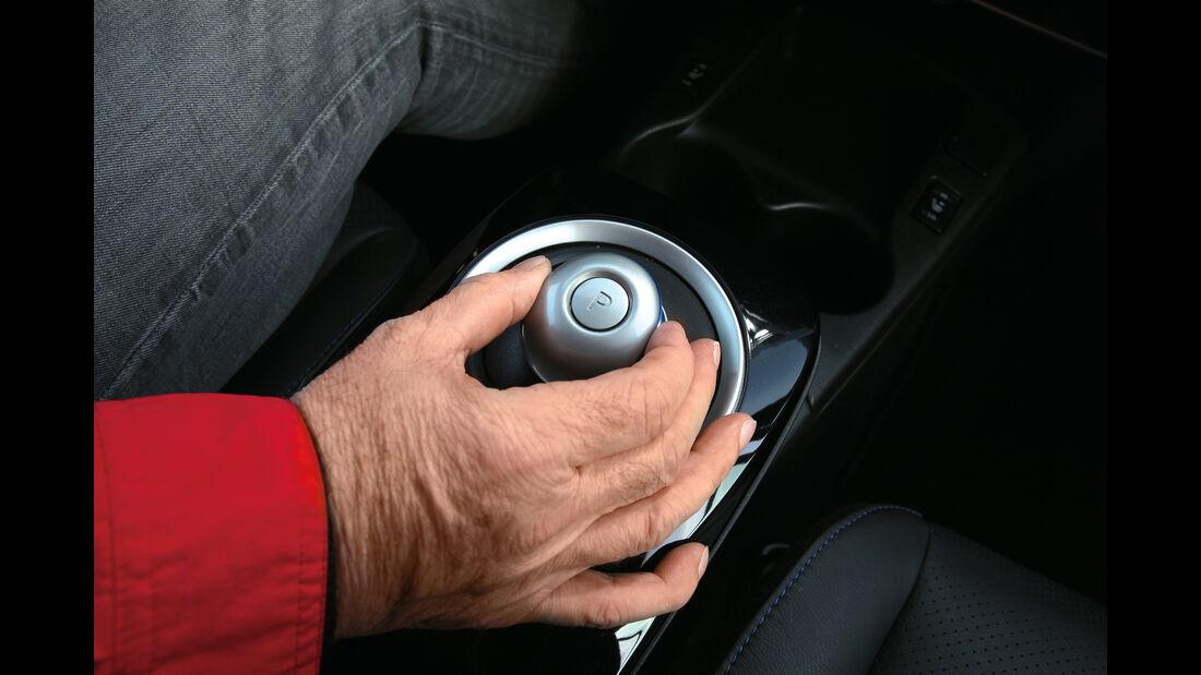 Nissan Leaf, Schalthebel