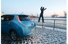 Nissan Leaf, Seitenansicht