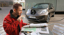 Nissan Leaf, Strom laden