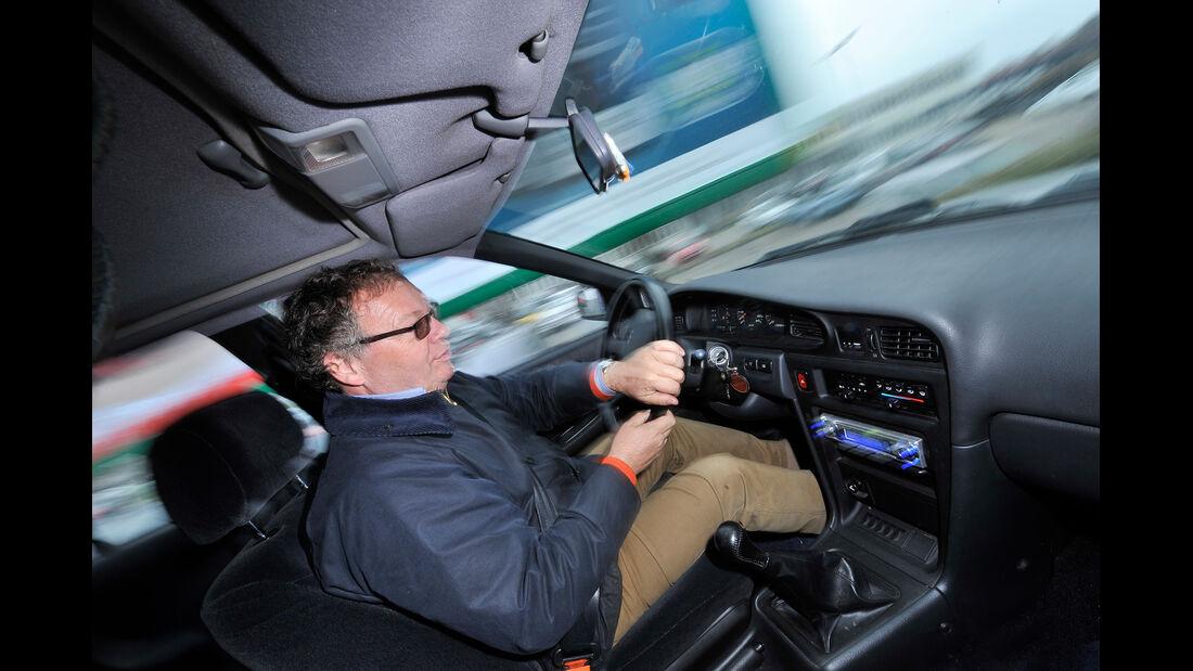 Nissan Maxima 3.0 V6, Cockpit, Fahrersicht
