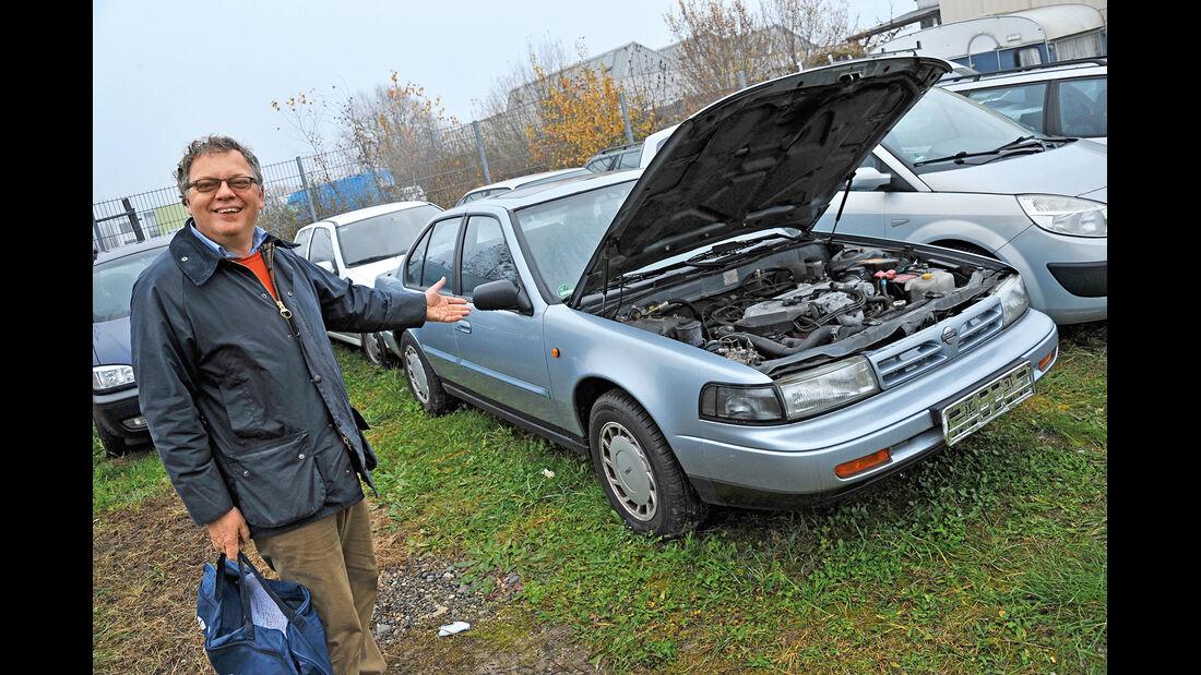 Nissan Maxima 3.0 V6, Motorhaube