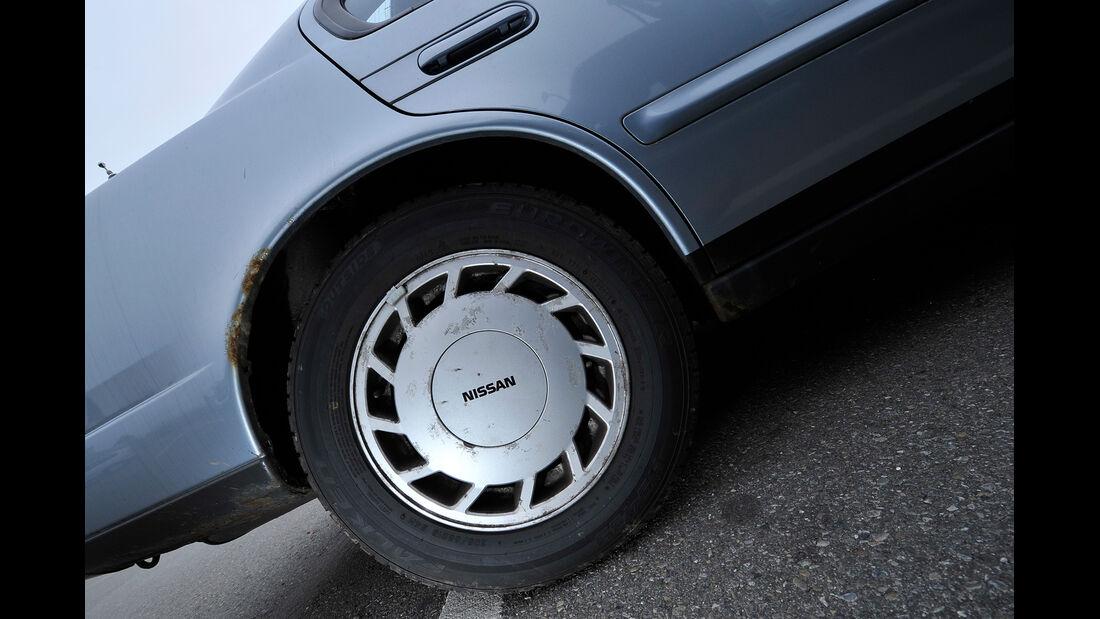 Nissan Maxima 3.0 V6, Rad, Felge