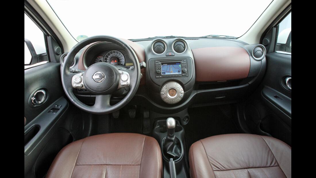 Nissan Micra 1.2 DIG-S, Cockpit
