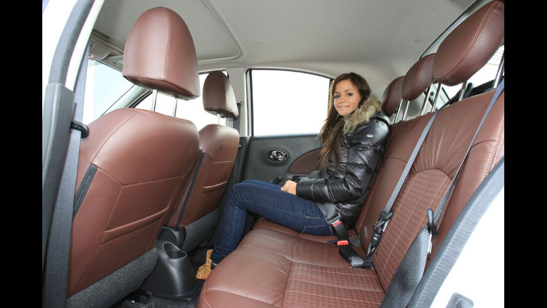 Nissan Micra 1.2 DIG-S, Fond