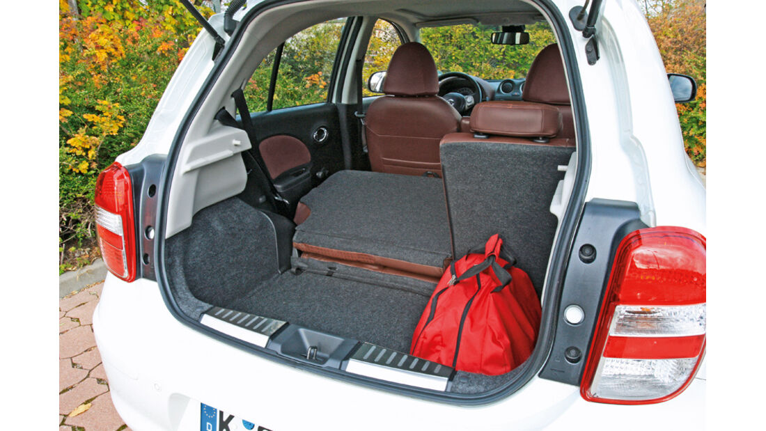 Nissan Micra 1.2 DIG-S, Kofferraum