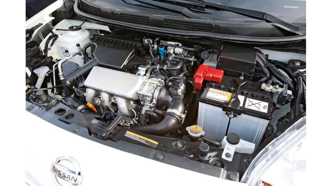 Nissan Micra 1.2 DIG-S, Motor