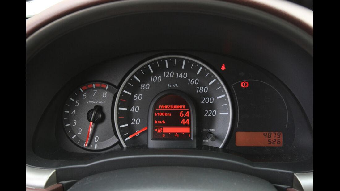 Nissan Micra 1.2 DIG-S, Rundinstrumente
