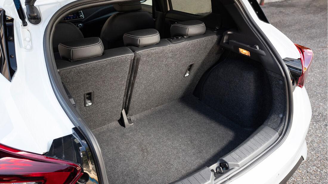 Nissan Micra DIG-T 117, Kofferraum