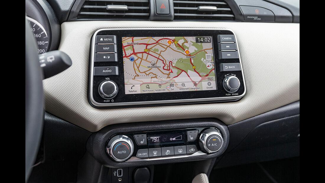 Nissan Micra IG-T 100, Interieur