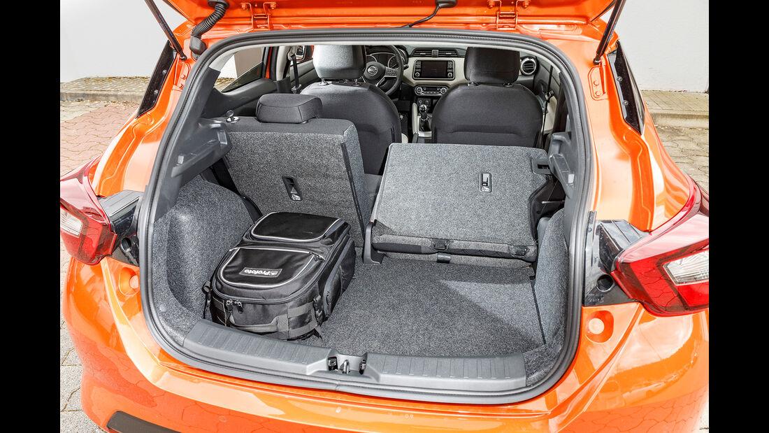 Nissan Micra IG-T 100, Kofferraum