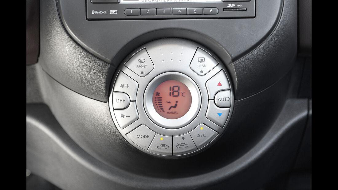 Nissan Micra, Interieur