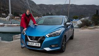 Nissan Micra - Kleinwagen - Fahrbericht - Power Blue