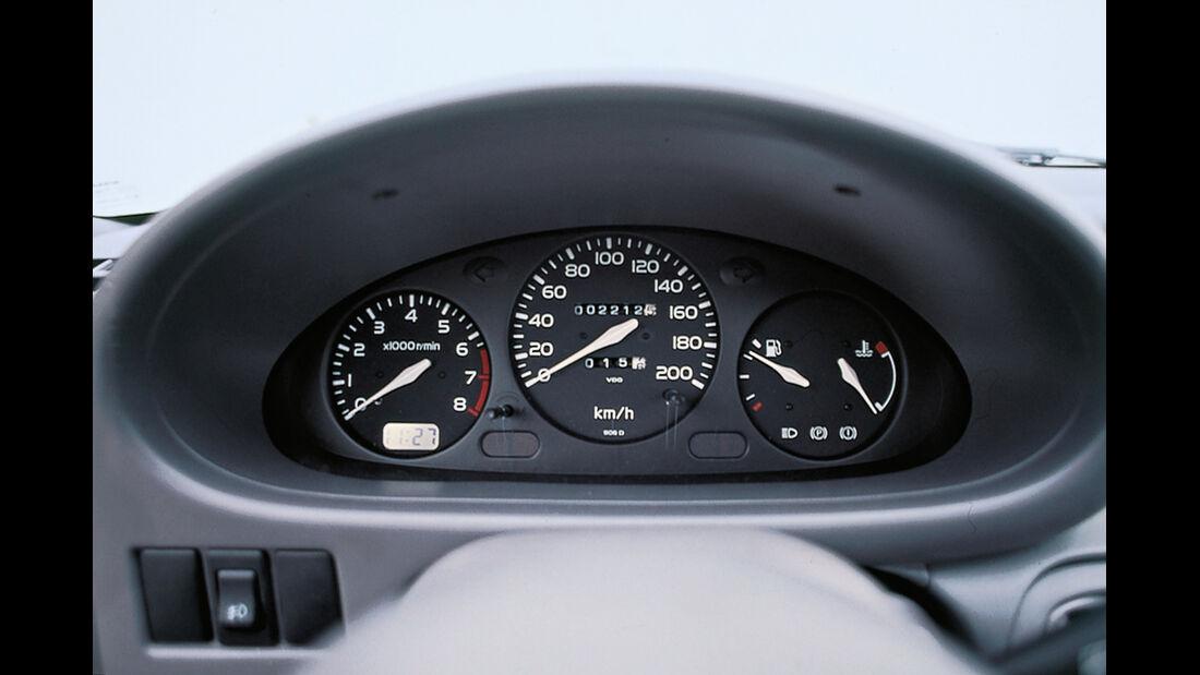 Nissan Micra, Rundinstrumente