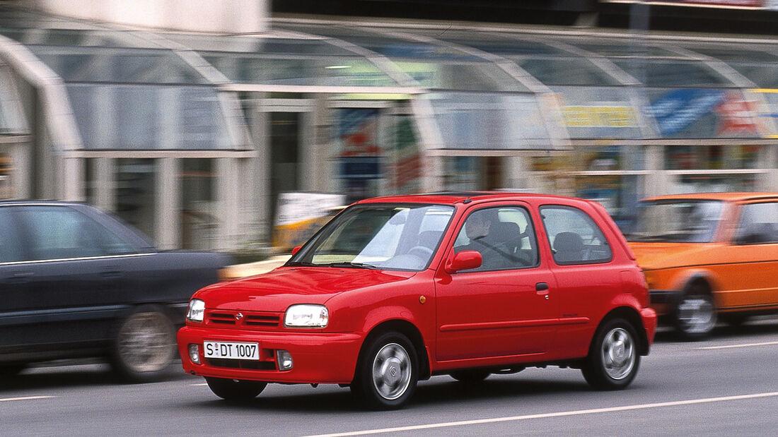 Nissan Micra, Seitenansicht