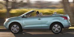 Nissan Murano CrossCabriolet, Seitenansicht