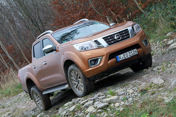 nissan np300 navara pickup im fahrbericht auto motor und sport. Black Bedroom Furniture Sets. Home Design Ideas