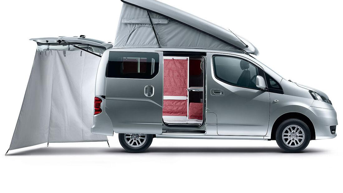Nissan NV 200 Evalia Reisemobil Stadtindianer