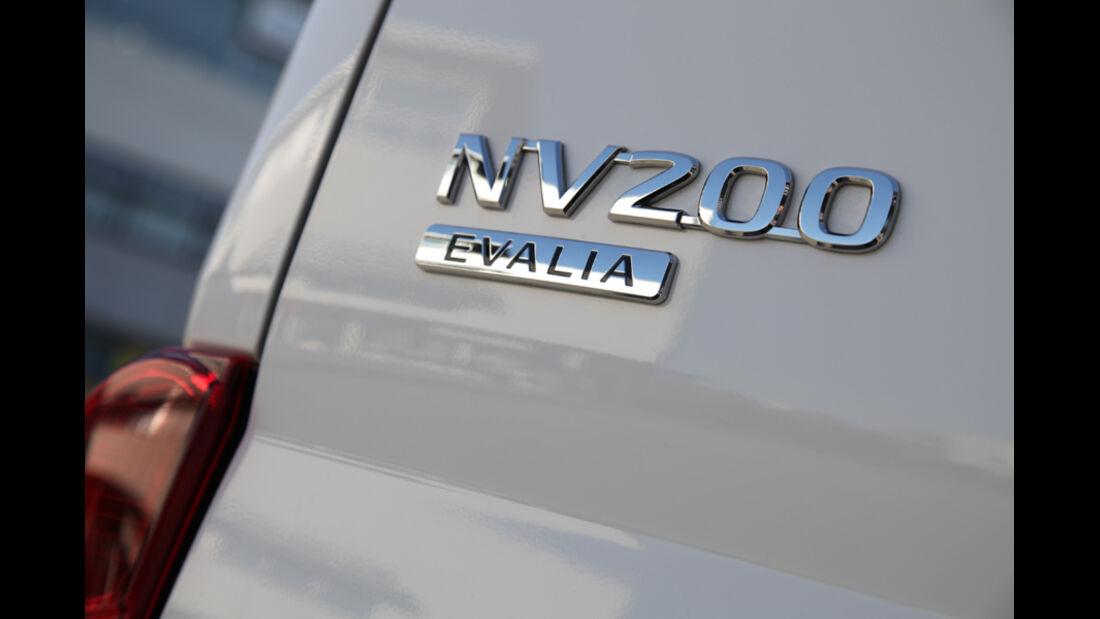 Nissan NV 200 Evalia dCi 110, Typenbezeichnung