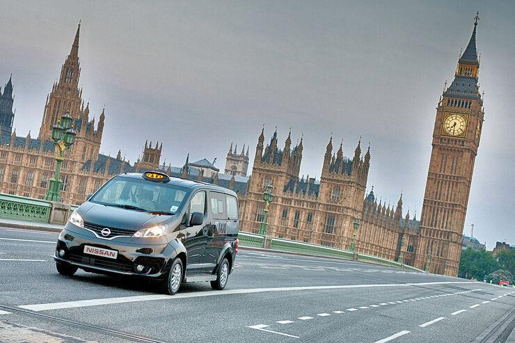 Nissan NV 200 London Taxi