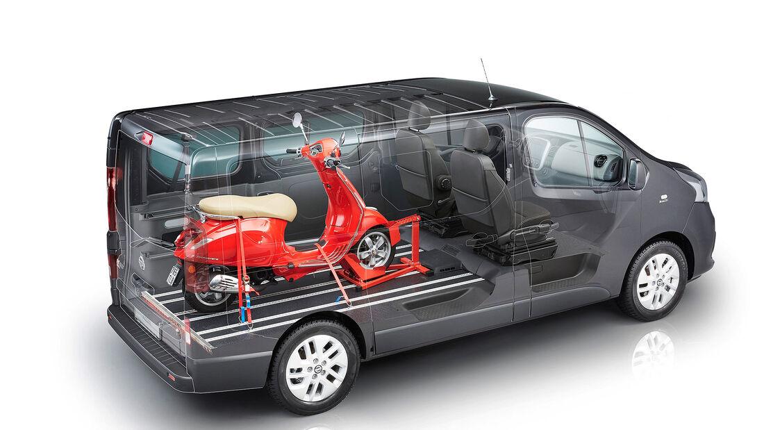 Nissan NV300 mit FlexVan Umbau