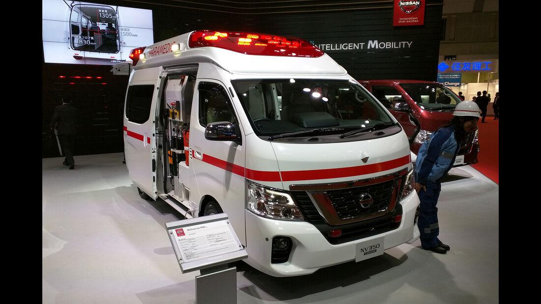 Nissan NV350 Paramedic Concept