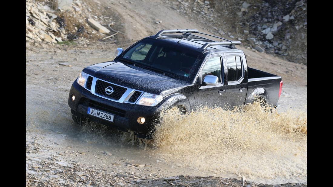 Nissan Navara 2.5 dCi, Frontansicht
