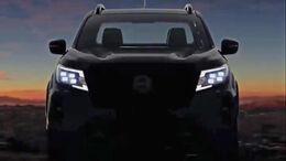 Nissan Navara 2021 Teaser