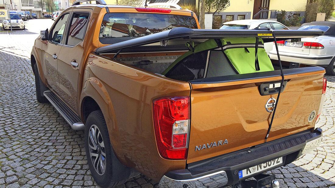 Nissan Navara D.Cab 2.3 dCi 4x4, Exterieur