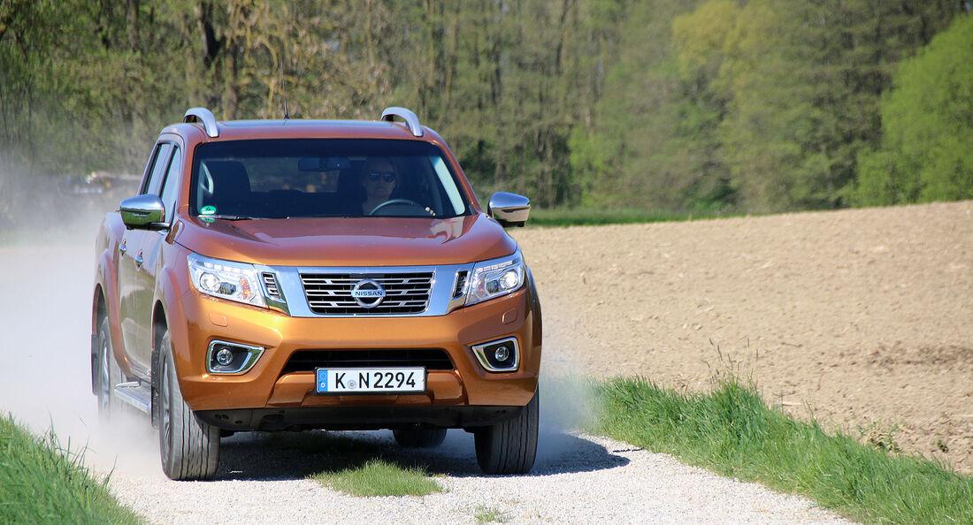 Nissan Navara Double Cab Pickup 2.3 dCi 140 kW 7AT Einzeltest
