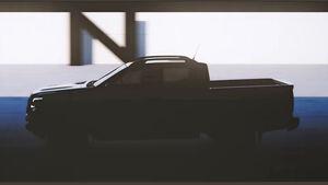 Nissan Navara / Frontier 2021 Teaser