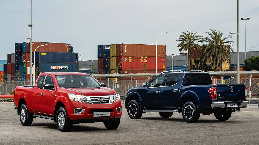 Nissan Navara Modellpflege 2019