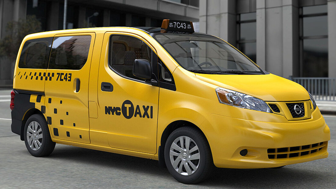 Nissan New York Taxi