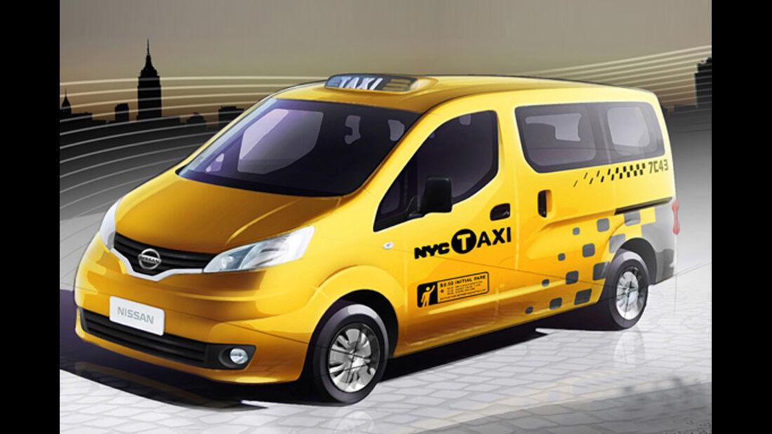 Nissan New York Taxi