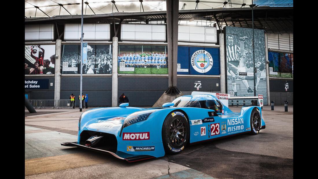 Nissan Nismo - LMP1 - Manchester City Lackierung - 2015