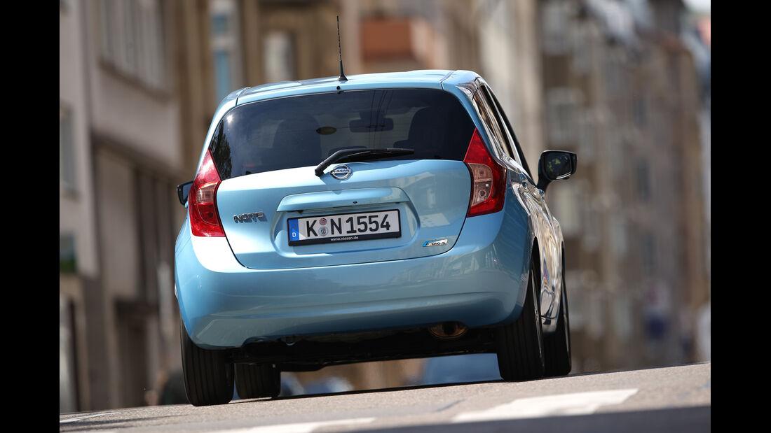 Nissan Note 1.2 DIG-S, Heckansicht