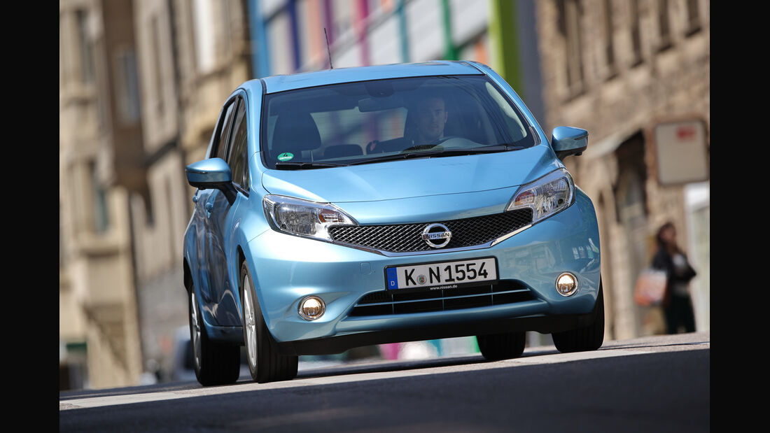 Nissan Note 1.2 Dig-S TEKNA, Frontansicht
