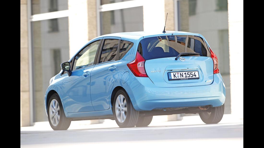 Nissan Note 1.2 Dig-S TEKNA, Heckansicht