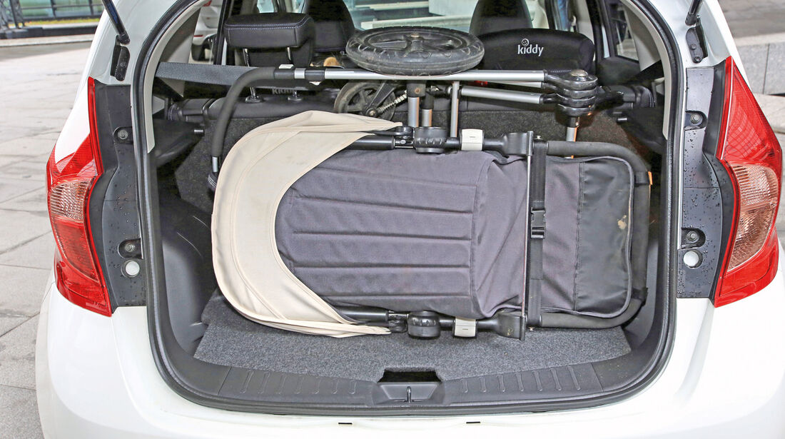 Nissan Note 1.5 dCi, Kofferraum