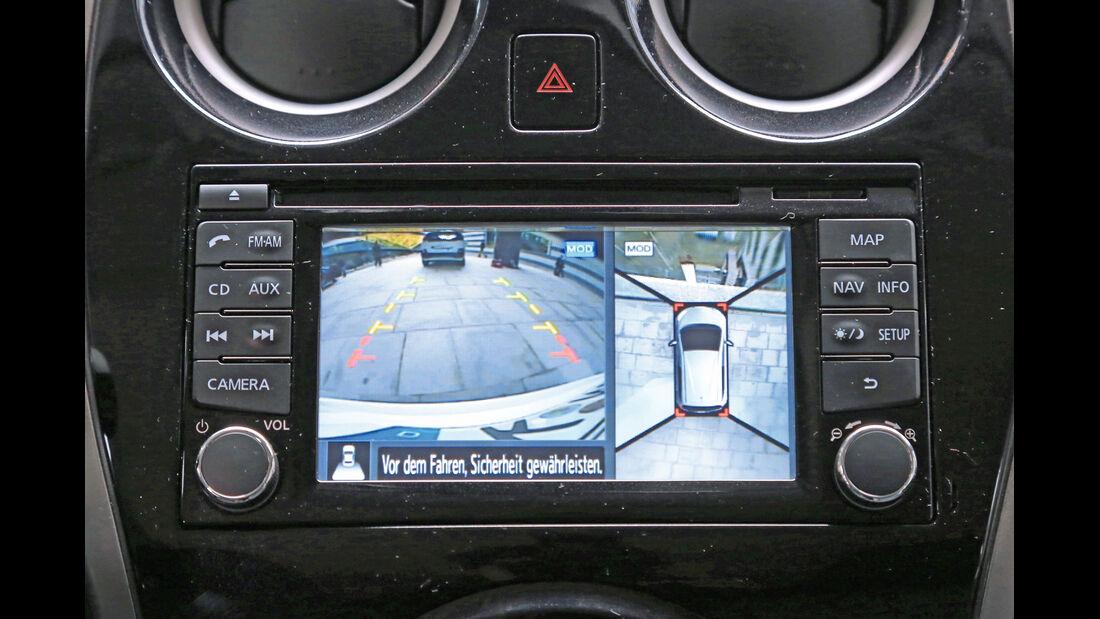 Nissan Note 1.5 dCi, Rückfahrkamera