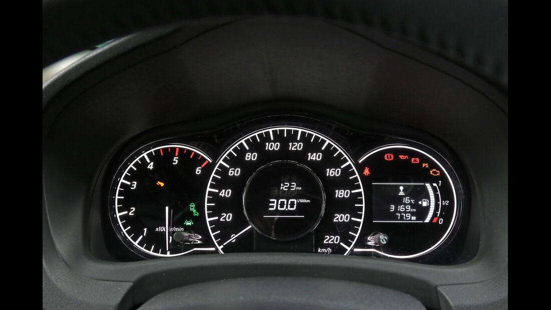 Nissan Note 1.5 dCi, Rundinstrumente