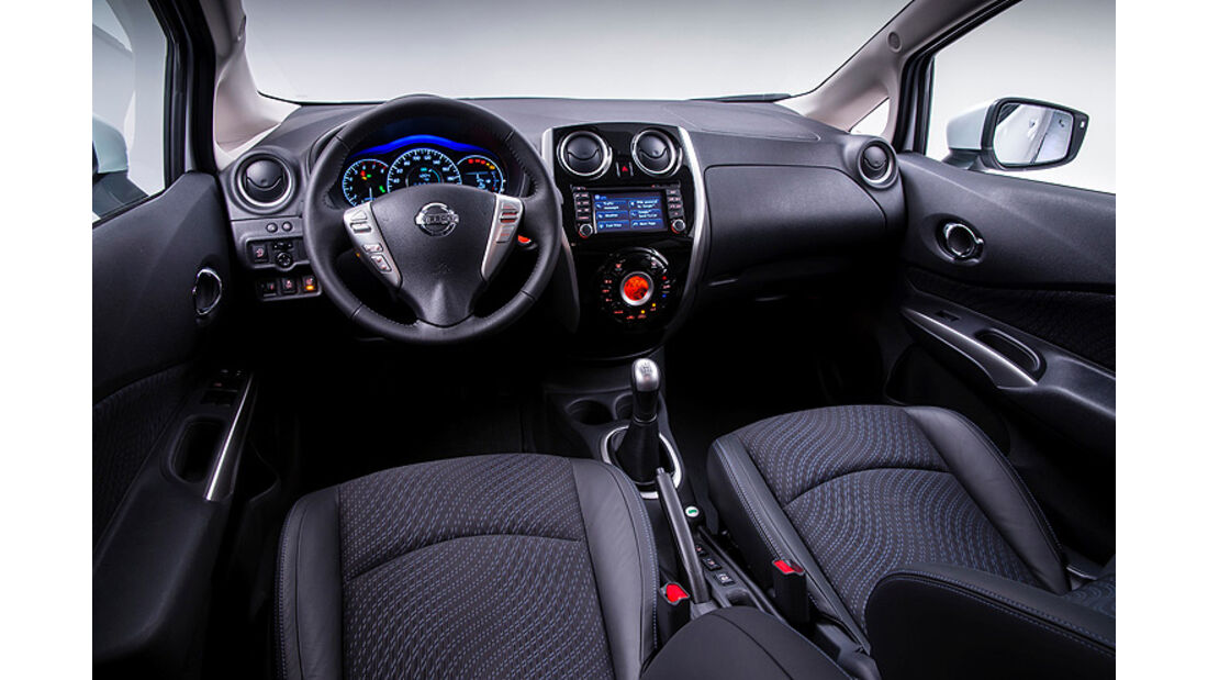 Nissan Note, Cockpit, Innenraum