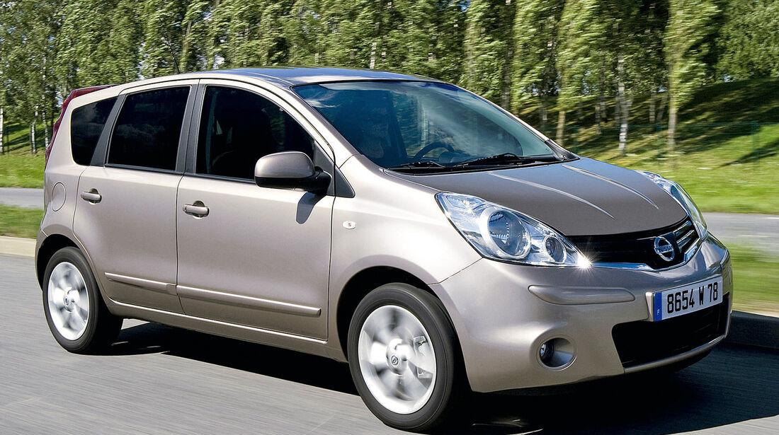 Nissan Note, Seitenansicht