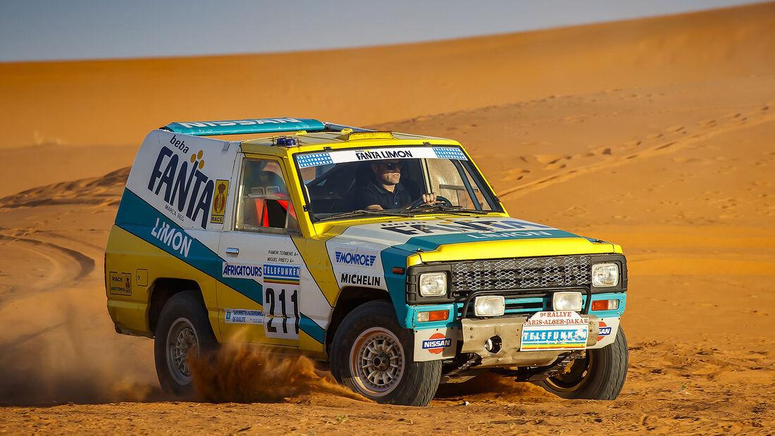 Nissan Patrol Fanta Limon Paris-Dakar 1987
