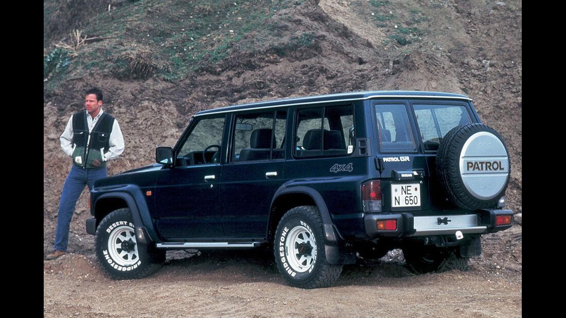 Nissan Patrol GR, Geländefahrt