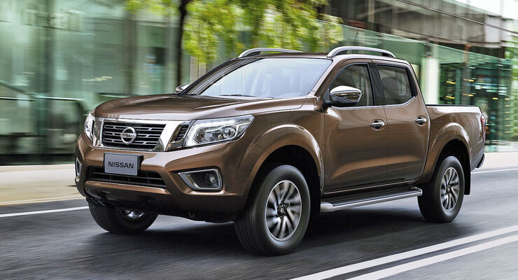 nissan navara pickup 2015 das ist nissans neuer pickup. Black Bedroom Furniture Sets. Home Design Ideas