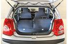 Nissan Pixo, Kofferraum